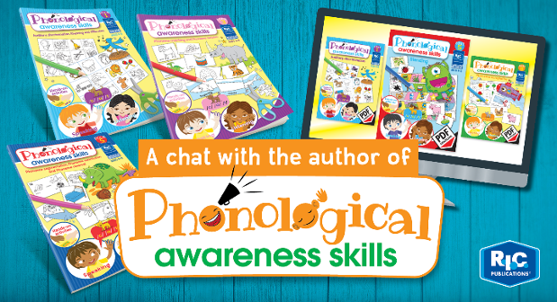 A chat with the author of Phonological awareness skills