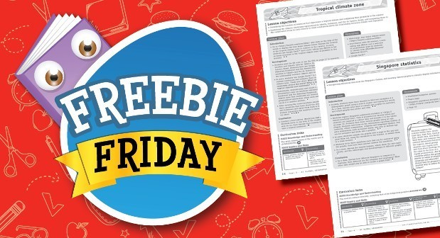 Freebie Friday - Global geography