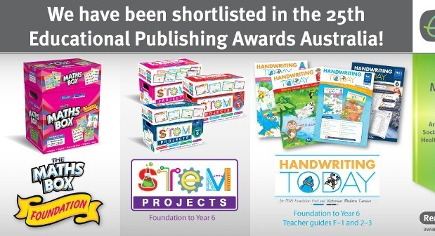 R.I.C Publications nominated for three Australian Educational Publishing Awards